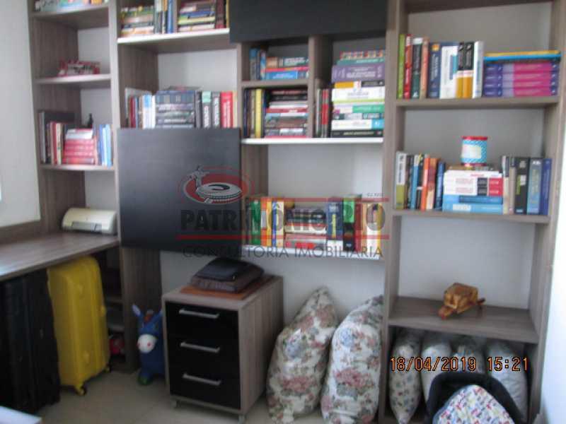 IMG_8209 - Apartamento semi luxo 3qtos - Condomínio Rossi Ideal Vila Cordovil - PAAP30755 - 21