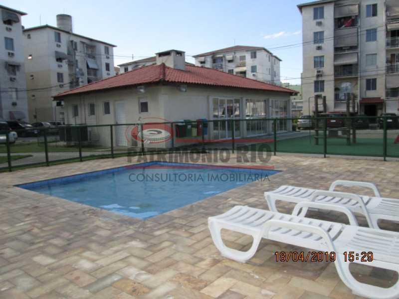 IMG_8219 - Apartamento semi luxo 3qtos - Condomínio Rossi Ideal Vila Cordovil - PAAP30755 - 1
