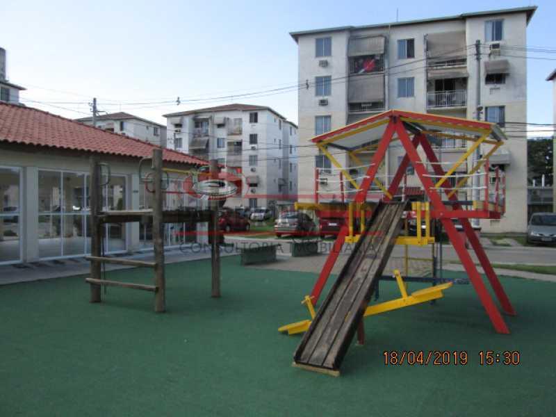 IMG_8221 - Apartamento semi luxo 3qtos - Condomínio Rossi Ideal Vila Cordovil - PAAP30755 - 3