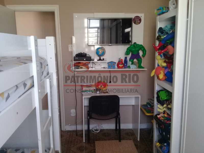 8 - Bom Apartamento na Penha, salão, 2quartos com dependência completa, junto da Estação da Penha - PAAP22964 - 9