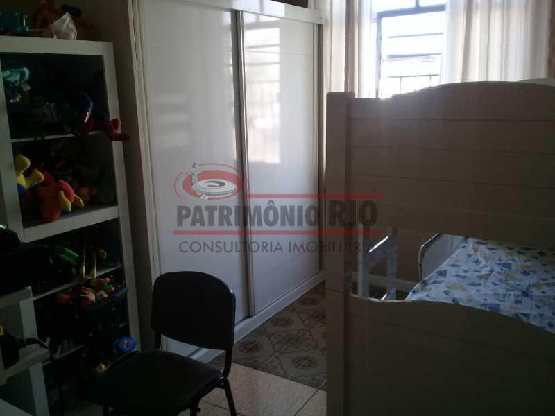 10 - Bom Apartamento na Penha, salão, 2quartos com dependência completa, junto da Estação da Penha - PAAP22964 - 11