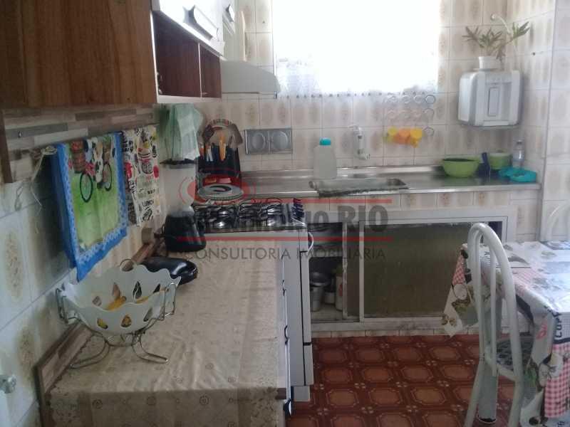 14 - Bom Apartamento na Penha, salão, 2quartos com dependência completa, junto da Estação da Penha - PAAP22964 - 15