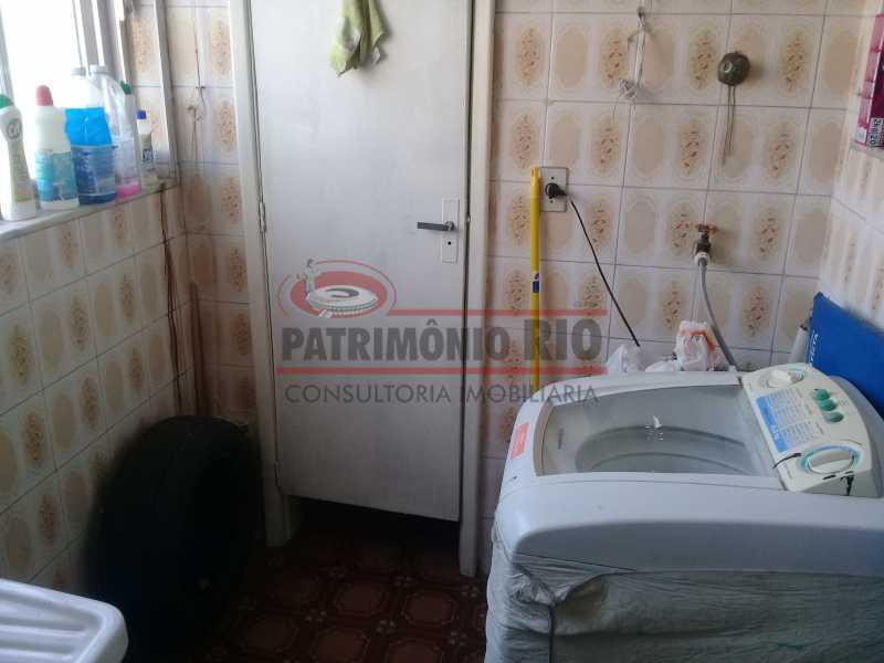 15 - Bom Apartamento na Penha, salão, 2quartos com dependência completa, junto da Estação da Penha - PAAP22964 - 16