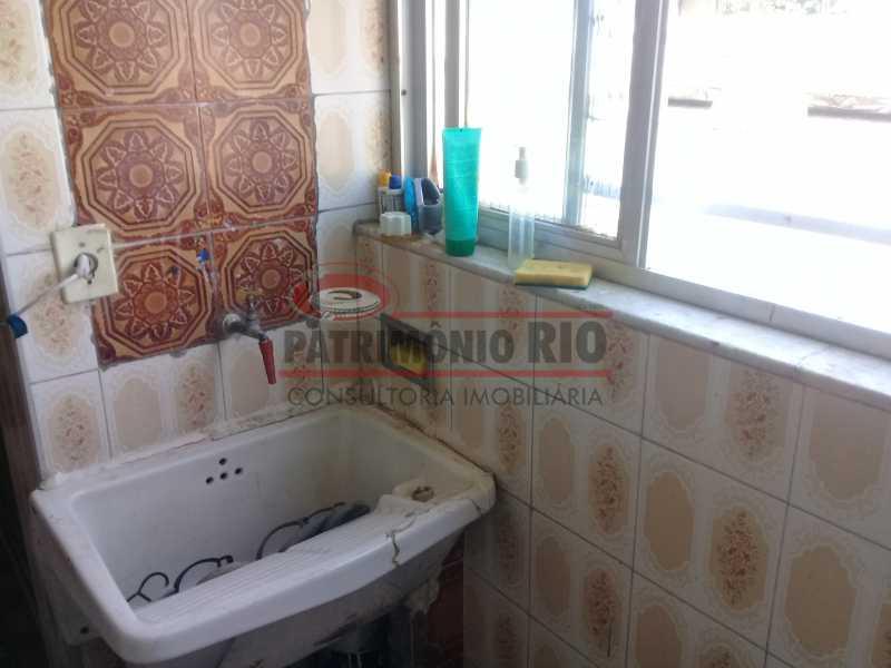 16 - Bom Apartamento na Penha, salão, 2quartos com dependência completa, junto da Estação da Penha - PAAP22964 - 17