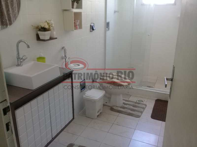 27 - Bom Apartamento na Penha, salão, 2quartos com dependência completa, junto da Estação da Penha - PAAP22964 - 28