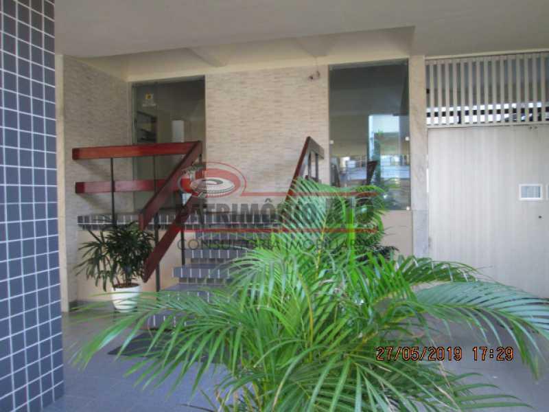 IMG_8556 - Excelente Apartamento desocupado, 2 quartos, Vaga de garagem na escritura, elevador - Vila da Penha - PAAP22979 - 5