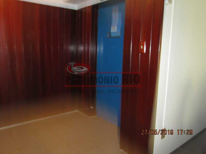 IMG_8559 - Excelente Apartamento desocupado, 2 quartos, Vaga de garagem na escritura, elevador - Vila da Penha - PAAP22979 - 30