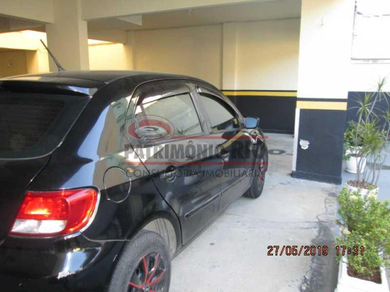 IMG_8561 - Excelente Apartamento desocupado, 2 quartos, Vaga de garagem na escritura, elevador - Vila da Penha - PAAP22979 - 29