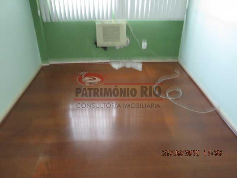 IMG_8576 - Excelente Apartamento desocupado, 2 quartos, Vaga de garagem na escritura, elevador - Vila da Penha - PAAP22979 - 16