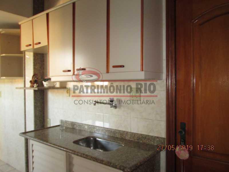 IMG_8585 - Excelente Apartamento desocupado, 2 quartos, Vaga de garagem na escritura, elevador - Vila da Penha - PAAP22979 - 20