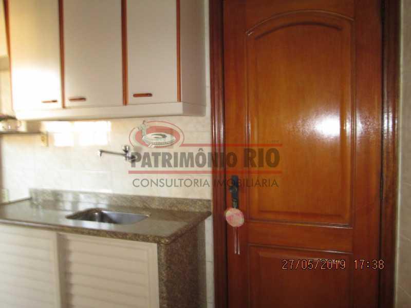 IMG_8586 - Excelente Apartamento desocupado, 2 quartos, Vaga de garagem na escritura, elevador - Vila da Penha - PAAP22979 - 21