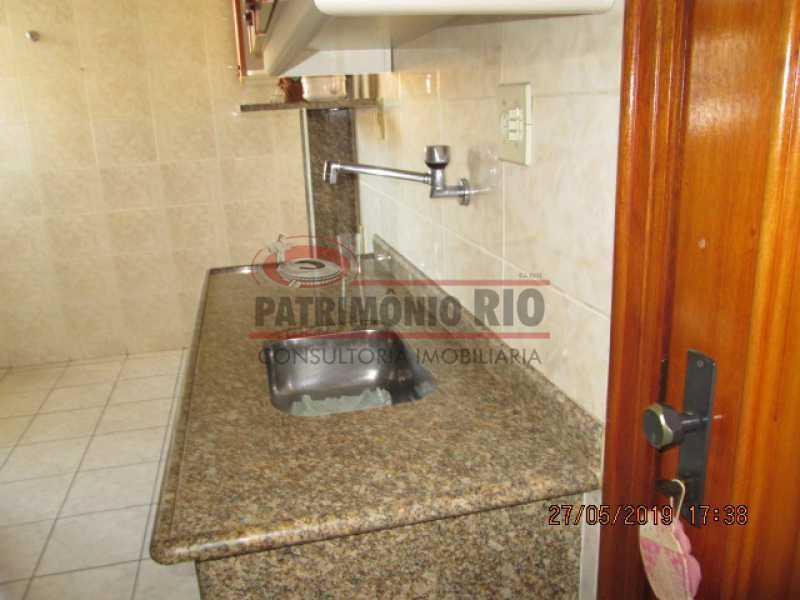 IMG_8587 - Excelente Apartamento desocupado, 2 quartos, Vaga de garagem na escritura, elevador - Vila da Penha - PAAP22979 - 22