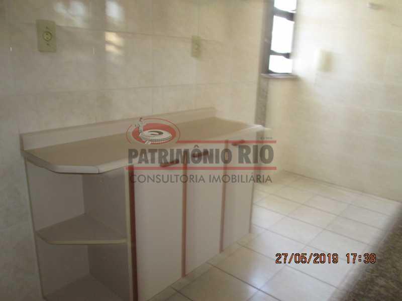 IMG_8588 - Excelente Apartamento desocupado, 2 quartos, Vaga de garagem na escritura, elevador - Vila da Penha - PAAP22979 - 23