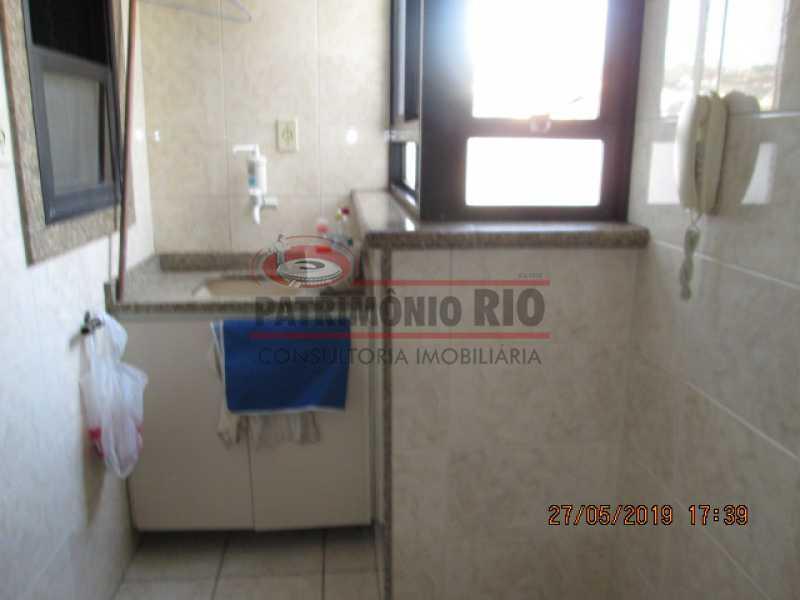 IMG_8594 - Excelente Apartamento desocupado, 2 quartos, Vaga de garagem na escritura, elevador - Vila da Penha - PAAP22979 - 27