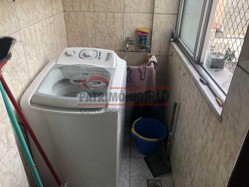 IMG_6792 - Apartamento 2quartos Colégio com terraço churrasqueira - PAAP22981 - 18