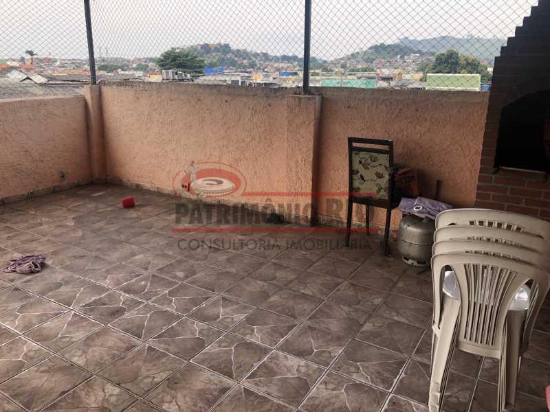 IMG_6799 - Apartamento 2quartos Colégio com terraço churrasqueira - PAAP22981 - 23