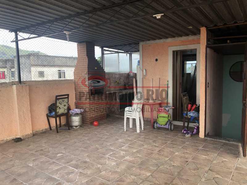 IMG_6800 - Apartamento 2quartos Colégio com terraço churrasqueira - PAAP22981 - 1