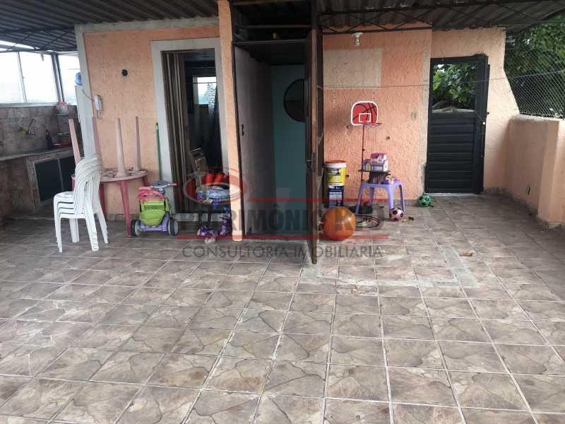 IMG_6801 - Apartamento 2quartos Colégio com terraço churrasqueira - PAAP22981 - 24