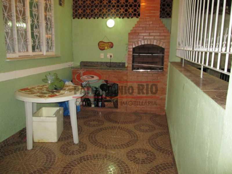 02 - Ótima Casa Tipo Apto 3quartos Cascadura - PACV30030 - 3