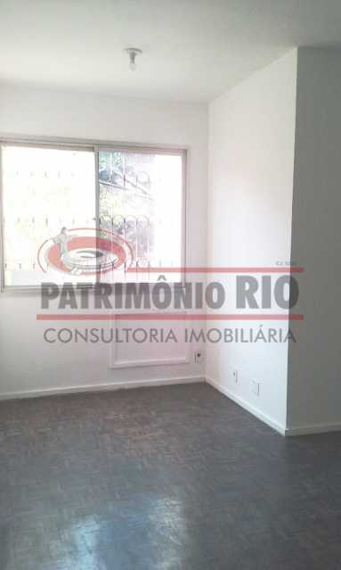 01. - Excelente apartamento, vazio, térreo, sol da manhã, sala, 2qtos - PAAP30773 - 1