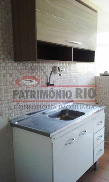 10. - Excelente apartamento, vazio, térreo, sol da manhã, sala, 2qtos - PAAP30773 - 11