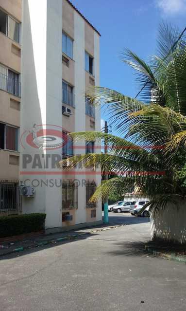 14. - Excelente apartamento, vazio, térreo, sol da manhã, sala, 2qtos - PAAP30773 - 15