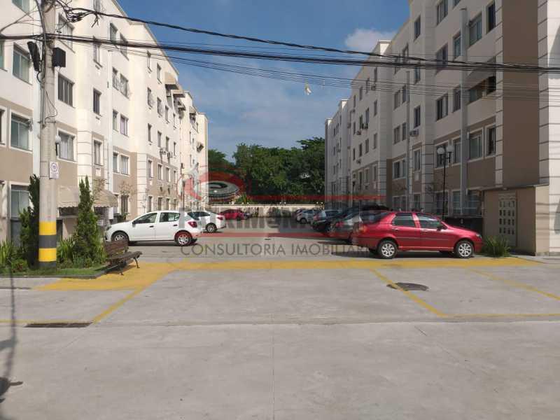 RS 10 - Apartamento de 2quartos com suíte todo reformado - PAAP22995 - 21
