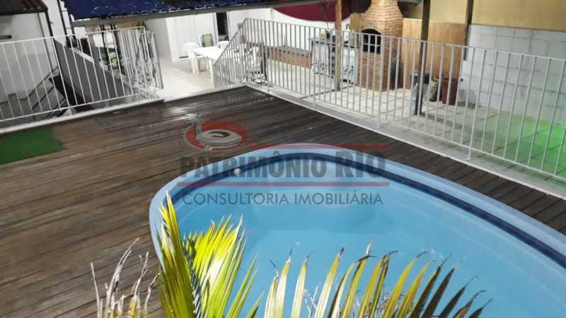 Piscina no terraço - Belíssima Casa Linear com terraço - PACA30411 - 10