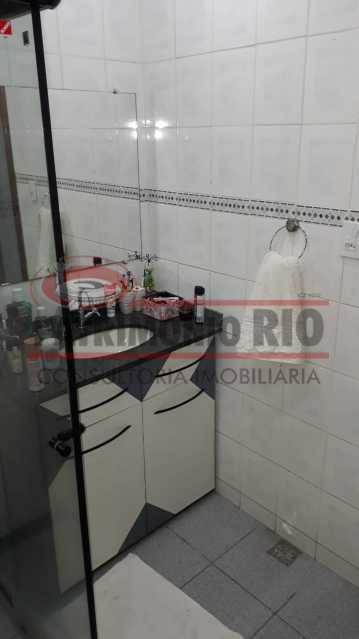 Banheiro social - Belíssima Casa Linear com terraço - PACA30411 - 22