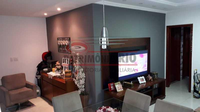 Sala - Belíssima Casa Linear com terraço - PACA30411 - 1