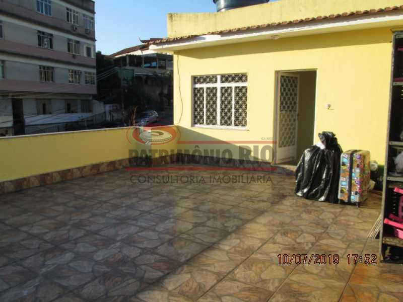 IMG_9169 - Espetacular Casa Duplex - 4quartos - 2vagas garagem - Braz de Pina - PACA40149 - 23