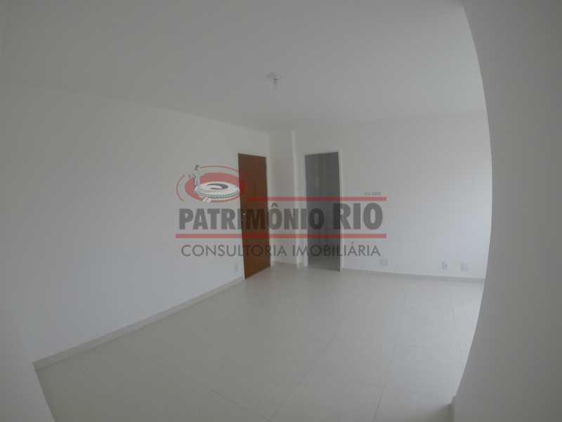 1 - sala 2 - Apartamento 2quartos Vaz Lobo - PAAP23097 - 4
