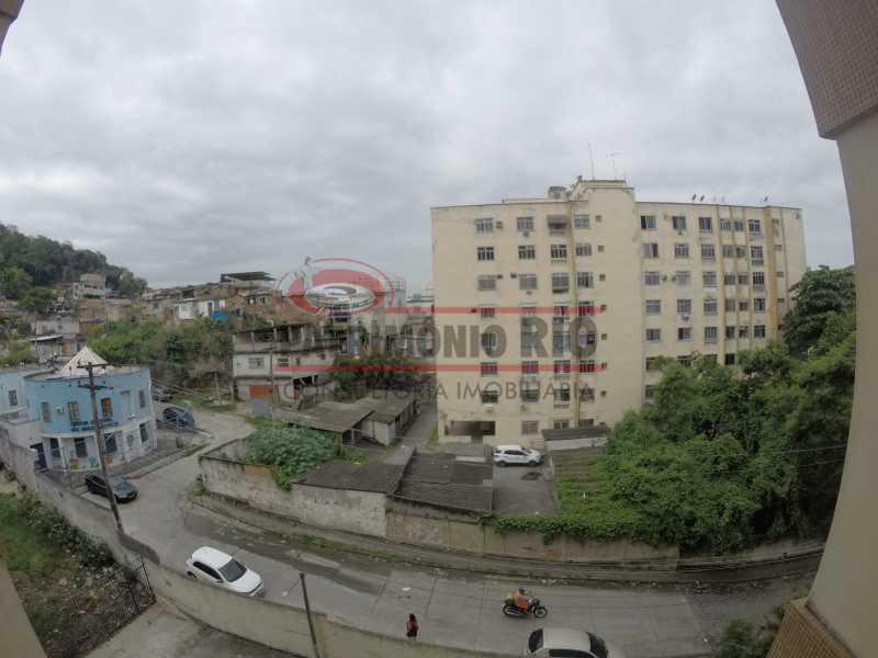 2 - vista 1 - Apartamento 2quartos Vaz Lobo - PAAP23097 - 3