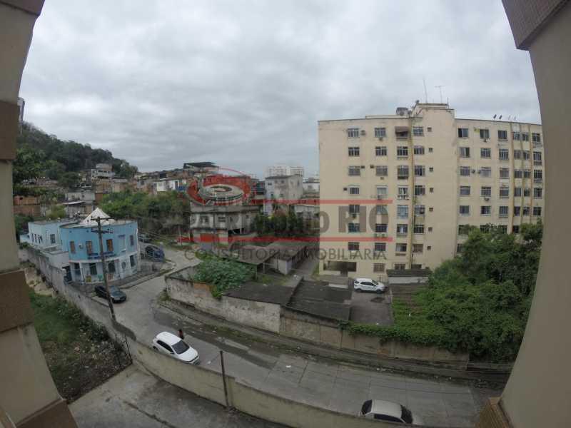 2 - vista 2 - Apartamento 2quartos Vaz Lobo - PAAP23097 - 6