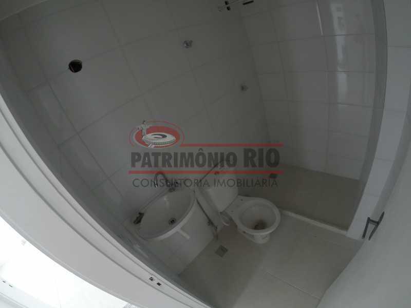 8 - banheiro - Apartamento 2quartos Vaz Lobo - PAAP23097 - 16