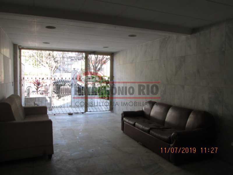 IMG_9222 - Espetacular Apartamento, varanda, 2quartos, dependência completa, vaga de garagem, escritura, Vaza Lobo - PAAP23111 - 7