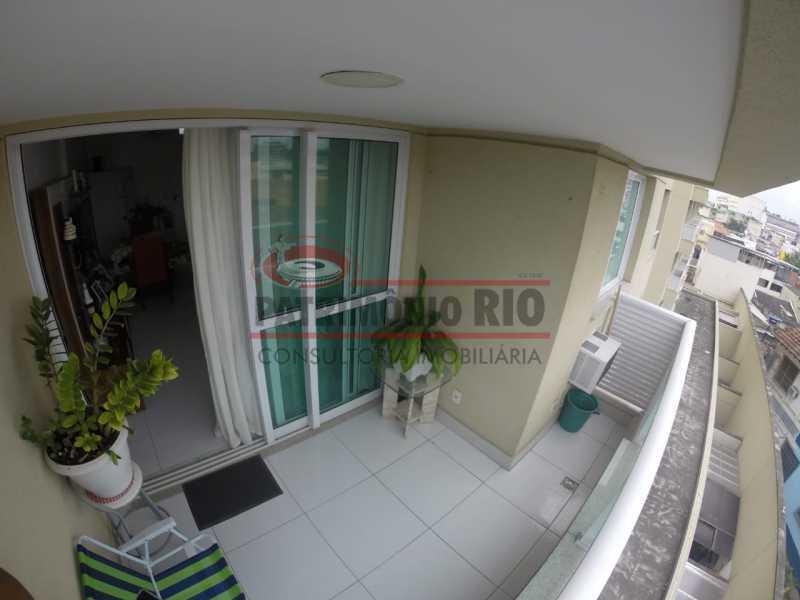 Varanda - Apartamento 1 quarto à venda Penha, Rio de Janeiro - R$ 235.000 - PAAP10371 - 8