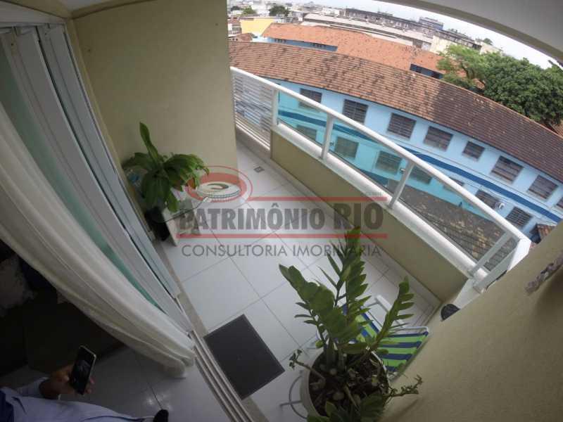 Varanda - Apartamento 1 quarto à venda Penha, Rio de Janeiro - R$ 235.000 - PAAP10371 - 10