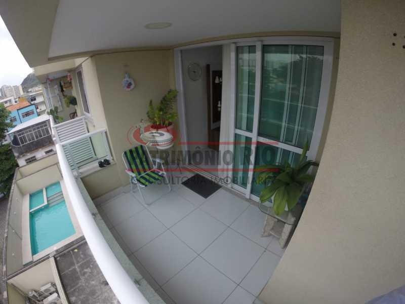 Varanda - Apartamento 1 quarto à venda Penha, Rio de Janeiro - R$ 235.000 - PAAP10371 - 9
