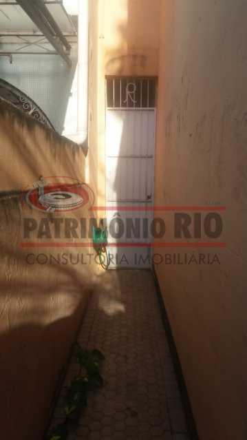 Acesso a area dos fundos  - Casa 3 quartos à venda Engenho Novo, Rio de Janeiro - R$ 300.000 - PACA30424 - 8