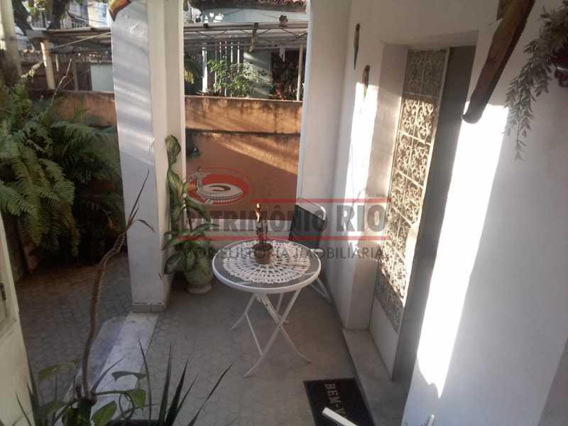 varanda frontal - Casa 3 quartos à venda Engenho Novo, Rio de Janeiro - R$ 300.000 - PACA30424 - 6