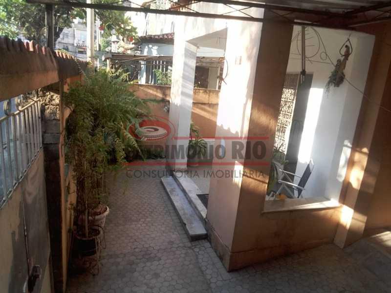 Vista da garagem - Casa 3 quartos à venda Engenho Novo, Rio de Janeiro - R$ 300.000 - PACA30424 - 5