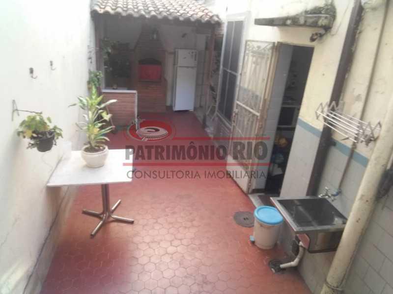 area dos fundos  - Casa 3 quartos à venda Engenho Novo, Rio de Janeiro - R$ 300.000 - PACA30424 - 10