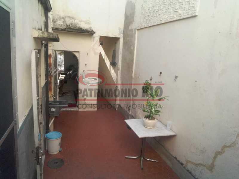 area dos fundos - Casa 3 quartos à venda Engenho Novo, Rio de Janeiro - R$ 300.000 - PACA30424 - 11