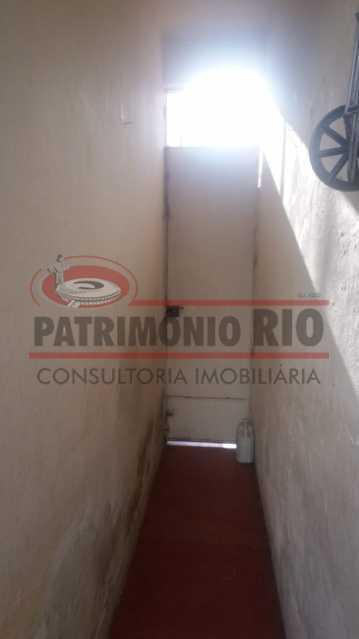 Acesso a area da frente - Casa 3 quartos à venda Engenho Novo, Rio de Janeiro - R$ 300.000 - PACA30424 - 9