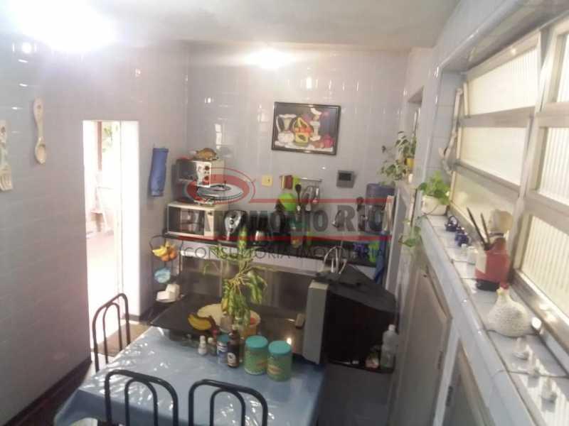 vista coz. acesso area fundos - Casa 3 quartos à venda Engenho Novo, Rio de Janeiro - R$ 300.000 - PACA30424 - 14