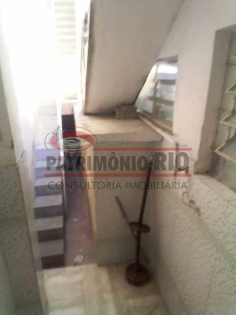 acesso ao terraço dos fundos - Casa 3 quartos à venda Engenho Novo, Rio de Janeiro - R$ 300.000 - PACA30424 - 13