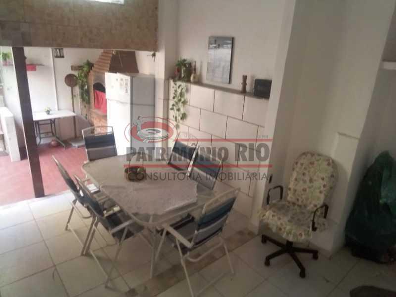 Sala gourmet area dos fundos - Casa 3 quartos à venda Engenho Novo, Rio de Janeiro - R$ 300.000 - PACA30424 - 12