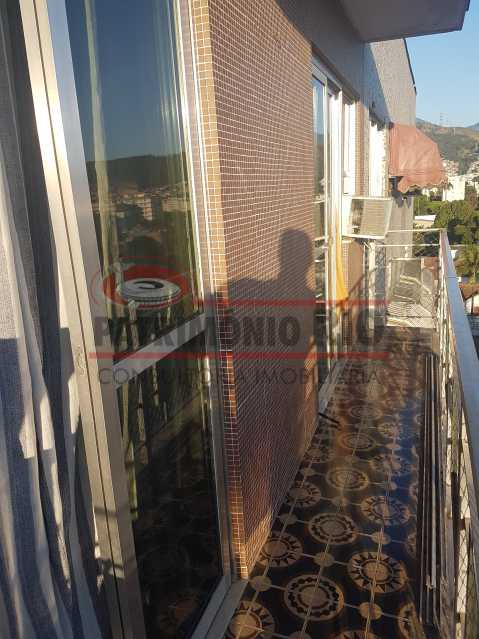 20190731_164556 - Ótimo apartamento com varanda e dependência completa - PAAP23183 - 3
