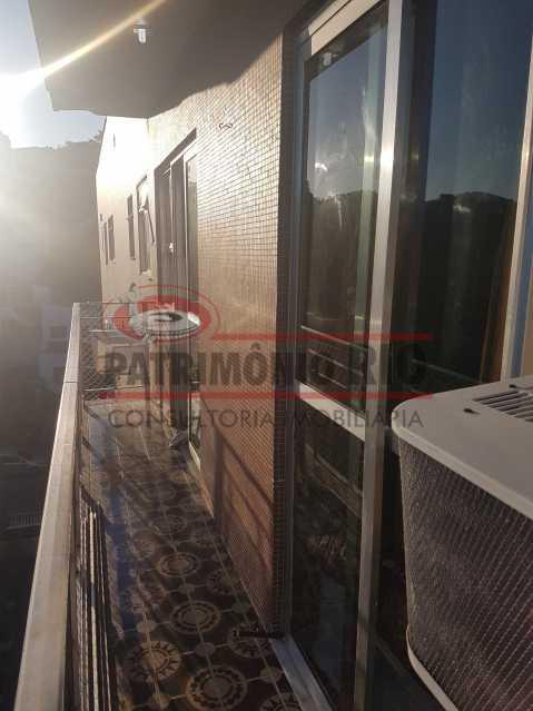 20190731_164639 - Ótimo apartamento com varanda e dependência completa - PAAP23183 - 4